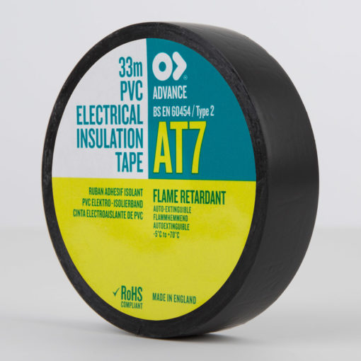 Advance-AT7-PVC-Electrical-Insulation-Tape-19mm-Black