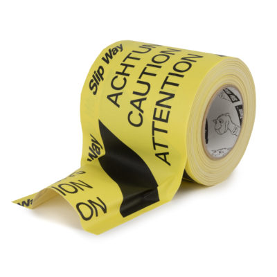 SlipWay Tape Hazard Black Yellow
